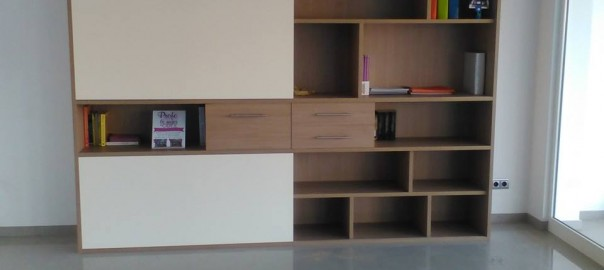 Estanter as de madera archivos valencia muebles a medida - Estanterias a medida ...
