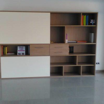 Estanterías a medida para optimizar y personalizar el espacio
