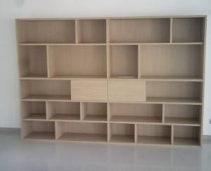 estantería de madera a medida Valencia