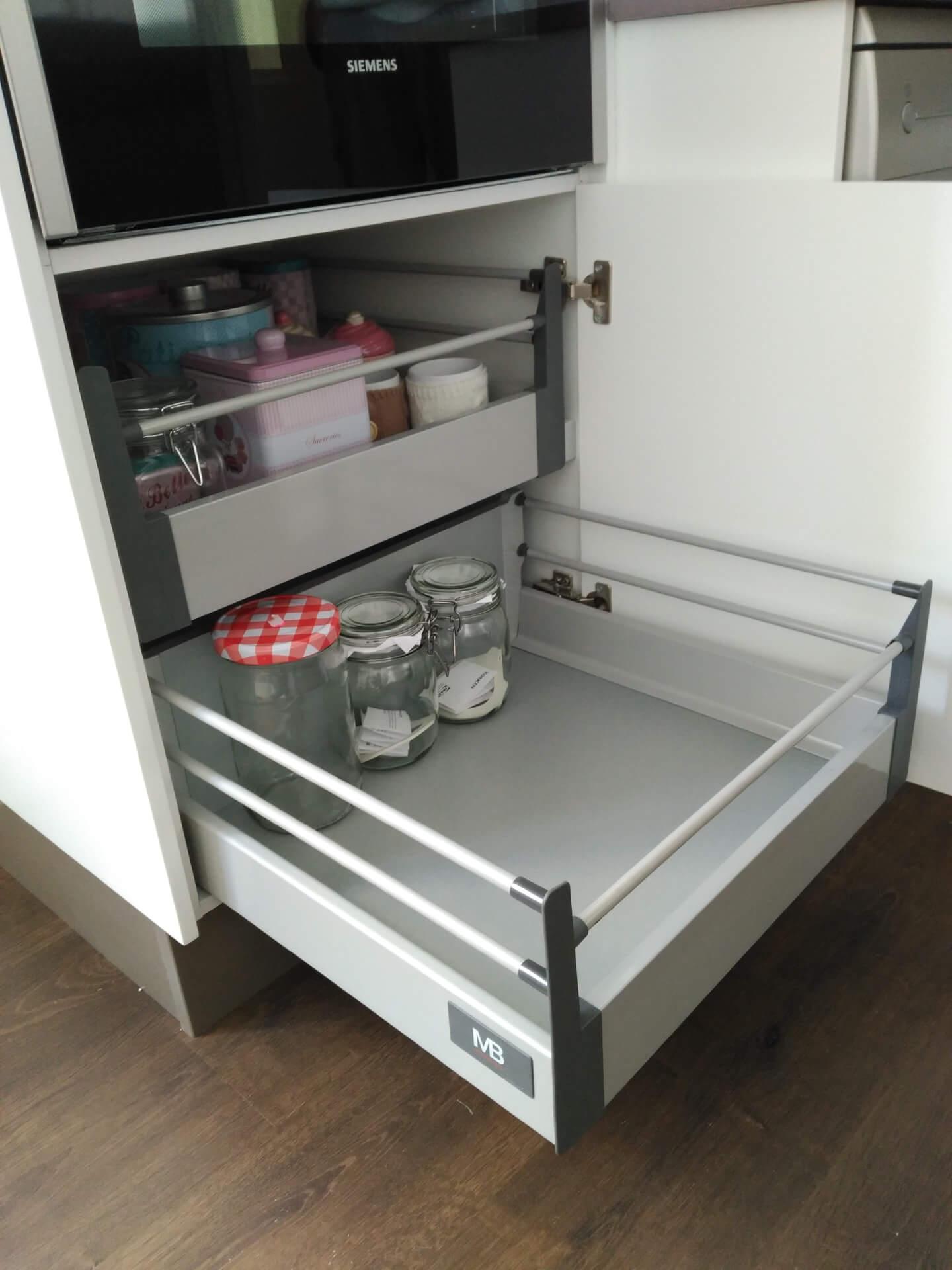 M dulos de cocina blanco mate - Muebles de cocina modulos ...