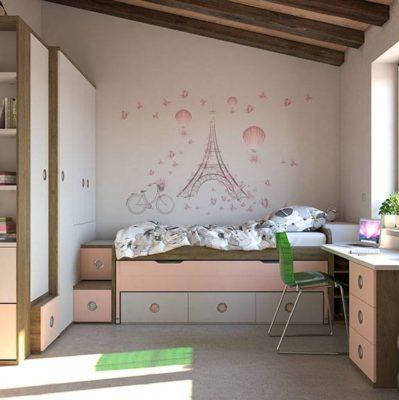 Claves para convertir un cuarto infantil en un dormitorio juvenil